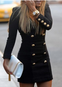 Double_Breasted_Black_Dress,_$15.39_@modlily