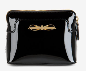 Patent_'Hanha'_cosmetic_bag_from_Ted_Baker