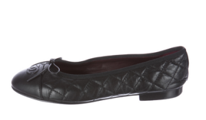 Chanel_Cap-Toe_Flats_Black_$395.00_@TheRealReal