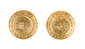 Chanel_Medallion_Earrings_@therealreal_for_$225
