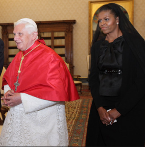 First_Lady_Michelle_Obama_meets_Pope_Benedict_XVI