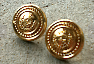 Gold_Tone_Medallion_Earrings,_