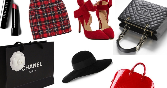 WEAR 2016 FASHION NOW: 21 WAYS to ROCK the RED and BLACK TREND [SLIDESHOW]